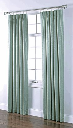 Stylemaster Home Products Renaissance Home Fashion Portland Pinch Pleated Foam Back Drape Pair, 2 by 24 by Spa *** For more information, visit image link. (This is an affiliate link) Pinch Pleat Curtains, Pleated Curtains, Home Curtains, Decorative Curtain Rods, Curtain Fabric, Home Fashion, Burgundy Curtains, Colorado, Energy Saver