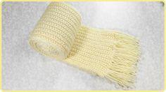 #Bufanda básica a #Crochet (idea 01)   #PatronesValhalla