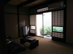 Machiya in Kyoto, an old traditional style house renovated to be an apartment hotel.