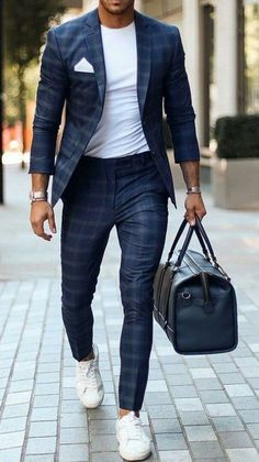 Blazer Outfits Men, Mens Fashion Blazer, Stylish Mens Outfits, Suit Fashion, Casual Outfits, Classy Mens Fashion, Casual Blazer, Fashion Clothes For Men, Men Summer Fashion