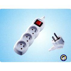 Kábel m, 3 zásuvky + vypínač Power Strip, Electronics, Consumer Electronics