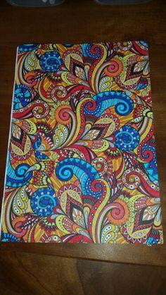 Kleuren voor volwassenen. Creatief kleurboek voor volwassen van de Action. Gemaakt door Eef ♡