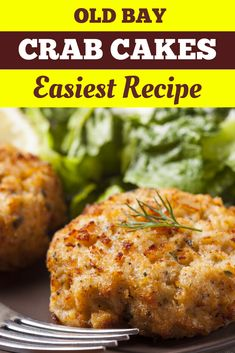 This easy crab cake recipe has just 7 simple ingredients and is ready in 35 minutes. Packed with lumps of juicy crab meat, savory seasonings, and flaky breadcrumbs. Can Crab Meat Recipes, Fish Recipes, Seafood Recipes, Keto Recipes, Dinner Recipes, Cooking Recipes, Healthy Recipes, Bariatric Recipes, Seafood Dishes