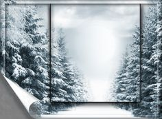 winter - Winter Picture Frames