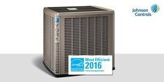 Our @YorkHVAC brand has earned 3 #ENERGYSTAR Most Efficient 2016 designations! Learn more: on.jci.com/1OLvRdo