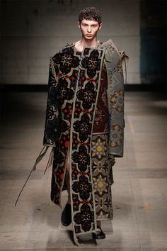 The selected designers to show their Fall/Winter 2017 collections were Charles Jeffrey LOVERBOY, Feng Chen Wang and Per Götesson.