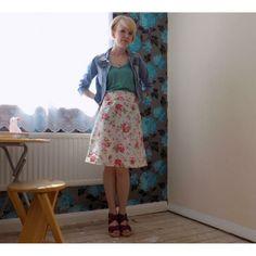 Jo's Delphine skirt #LoveAtFirstStitch