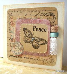 Jacqueline's Craft Nest: Using paper scraps