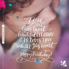 You are a beautiful creation and God loves you immensely baby 😘😘😘 you are greatly blessed. Birthday Msg, Happy Birthday Video, Birthday Poems, Happy Birthday Beautiful, Birthday Blessings, Happy Birthday Pictures, Happy Birthday Messages, Happy Birthday Quotes, Birthday Love