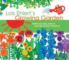 Lois Ehlert's Growing Garden Gift Set Earth Day Tips, Planting A Rainbow, Lois Ehlert, Art For Kids, Crafts For Kids, Preschool Garden, How To Make Terrariums, Growing Gardens, Happy Earth