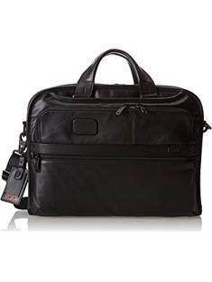 2ab63ac6c Tumi Alpha 2 Organizer Portfolio Leather Brief, Black, One Size ❤ Tumi  Luggage Best