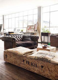 chesterfield # interior # loft
