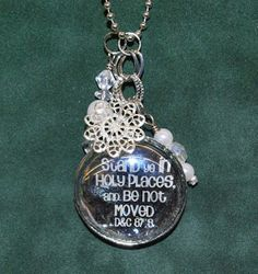 Abbott's Craft & Variety: Stand Ye In Holy Places Necklace