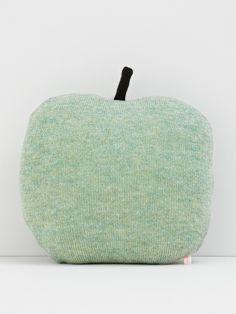 cuddly apple pillow