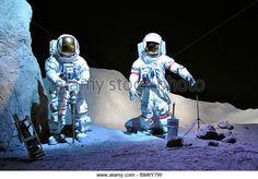 NASA museum, Houston, Texas, USA - Stock Image