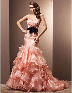 Robe de Mariée - Elégant & Luxueux/Chic & Moderne - Taillé &... – EUR € 409.09