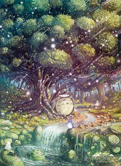 Bosque de Totoro