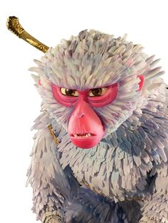 """laikaworld: """" Here's how Laika's artists and technicians made Monkey, a key character for their next release, """"Kubo and the Two Strings."""" """"It starts with a kind of classically proportioned character,""""..."""
