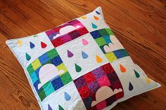 i absolutely adore this cloud song floor pillow by @Meg- Fashioned by Meg