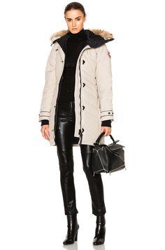 CANADA GOOSE Lorette Parka with Coyote Fur. #canadagoose #cloth #