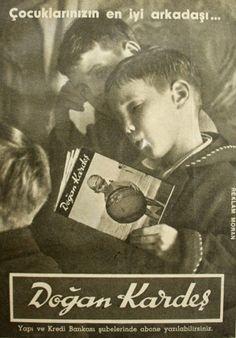 OĞUZ TOPOĞLU : doğan kardeş mecmuası 1959 nostaljik eski reklamla...