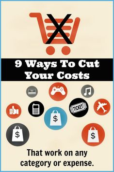 for ways to cut costs? Here are nine tips that work on any expense.from groceries, to hair cuts, to electric bills via Looking for ways to cut costs? Here are nine tips that work on any expense.from groceries, to hair cuts, to electric bills via Best Money Saving Tips, Ways To Save Money, Saving Money, Money Tips, Budgeting Finances, Budgeting Tips, Frugal Tips, Financial Tips, Saving Ideas