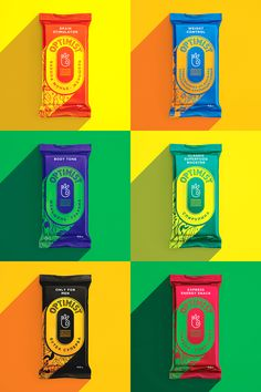 These Energy Bars Will Make You Look at the Bright Side — The Dieline - Branding & Packaging Design