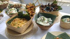 Classic Indonesian Ricetable
