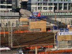 Double franchissement au-dessus des voies ferrées Saint-Lazare