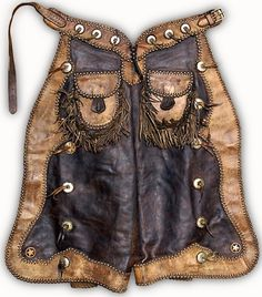 vintage batwing chaps...I could totally see @Adrian Danielle wearing these!! #buckaroobarbie