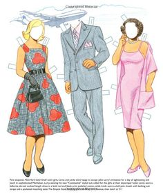 Stopover Paper Dolls: 3 Jet Set Dolls, Classic Airline Uniforms, 21 Outfits from Around the World: Tom Tierney, Paper Dolls, Jenny Taliadoro...