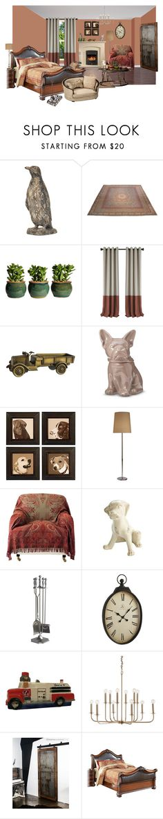 """""""handsome elegancy"""" by sterlingkitten on Polyvore featuring interior, interiors, interior design, home, home decor, interior decorating, Threshold, GAS Jeans, WALL and Robert Abbey"""