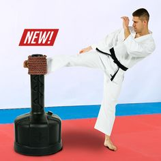 Improve your focus, technique, and the impact of your strikes during your martial arts training with the new Makiwara rope.