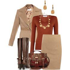"""Fall Work Wear"" by tajarl on Polyvore"