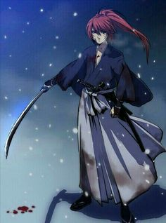 47 Gambar Kartun Samurai X Keren HD