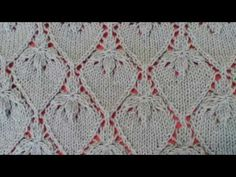 Strawberry Lace Stitch / Knitting pattern 21