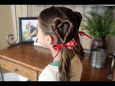 valentine hair dos...and tons more for little girls