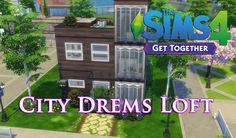 The Sims 4 - (Get Together) City Dreams Loft! #sims4 #sims4house #sims4nocc #sims4loft #sims
