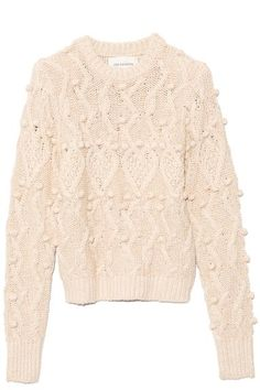 Anais Pullover in Off-White Melange – Hampden Clothing Hampden Clothing, Jerome Dreyfuss, Suit Of Armor, Sweater Design, Ulla Johnson, Knitting Designs, Daily Fashion, Bella, Off White