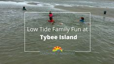 If you're in the Savannah, Georgia area, take the short drive to Tybee Island and have a family beach day!