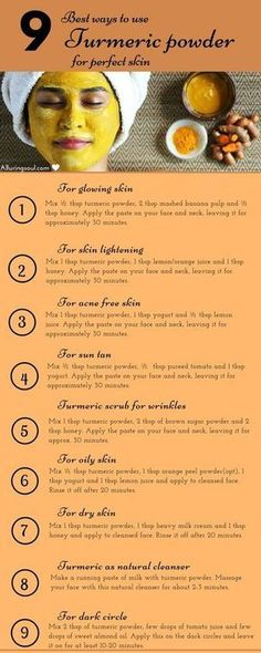 Turmeric face mask is the ultimate herb for your beautiful skin. Let's have a look on homemade turmeric face mask and their golden benefits on skin. skin 10 Turmeric Face Mask For Glowing And Beautiful Skin Homemade Face Masks, Homemade Skin Care, Homemade Beauty, Face Mask Diy, Diy Mask For Acne, Dyi Face Scrub, Homemade Body Scrubs, Facemask Homemade, At Home Face Mask