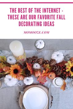 Get your home ready for fall with these gorgeous fall decorations - hand picked by our editors. #fall #falldecor #homedecor #interiors