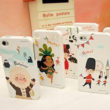 HAPPYMORI KOREAN Cover Case for iPhone 5/4S Galaxy S4/S3/S2 - HAPPY TOUR
