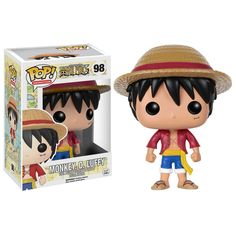 Funko One Piece POP Monkey D. Luffy Vinyl Figure - Radar Toys