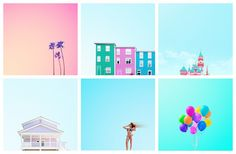how to create candy coloured photos