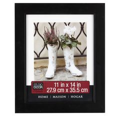 "Studio Décor® Home Collection Classic Frame, Black 11"" x 14"""