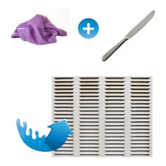 Its Almost Air Conditioner Season And Dirty Vents Equal Indoor Clean Your With A Vileda Cloth Covering Butter Knife