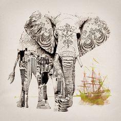 elephant boat