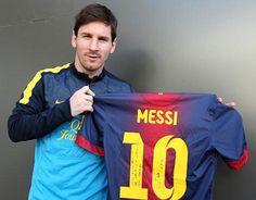 Messi envía camiseta dedicada a Müller - Vanguardia