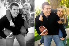 ♥ my fiance played football #markeric
